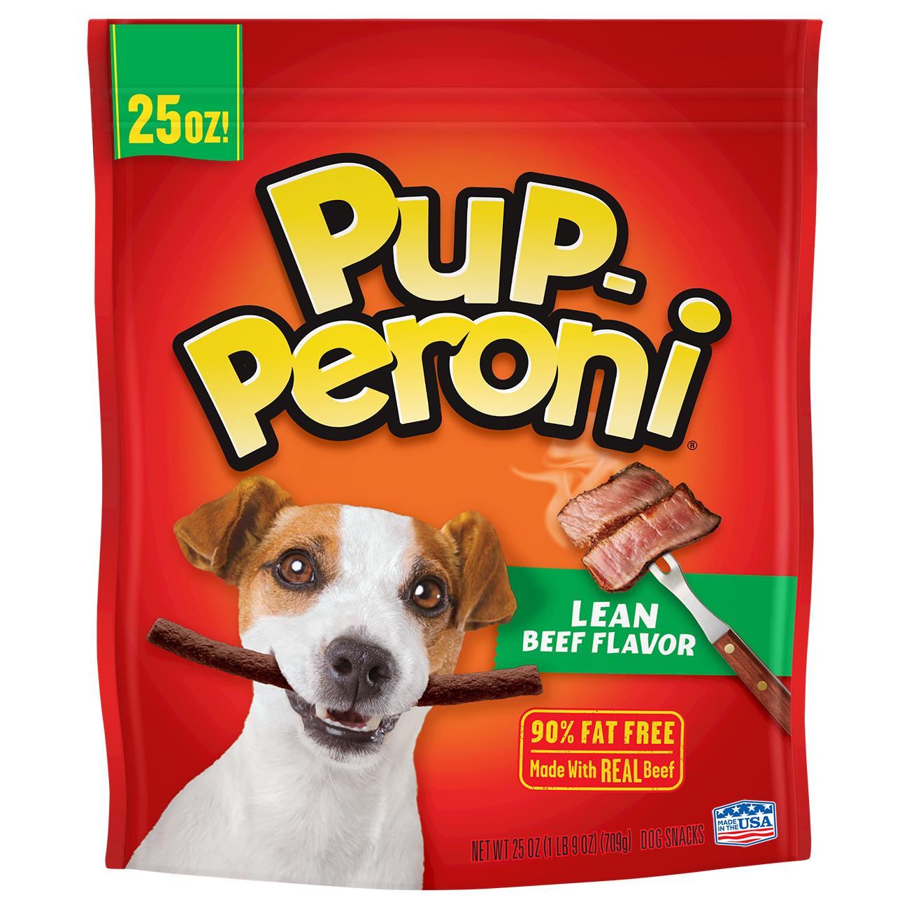 Pup-Peroni Dog Treats Lean Beef Flavor, 25.0 OZ by Big Heart Pet Brands