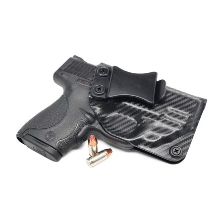 Concealment Express: S&W M&P Shield 9/40 w/Red CTC Laser IWB KYDEX