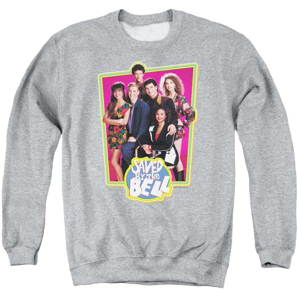 Saved By The Bell Saved Cast Mens Crewneck Sweatshirt