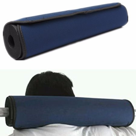 Foam Padded Barbell Bar Cover Pad Olympic Mat Weight Lifting Pull Up