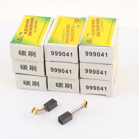 Power Tool Moteur électrique Carbone brosses, 13 x 8 x 7 mm, 10 paires - image 1 de 1
