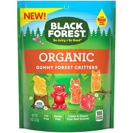 Black Forest Organic Forest Critters Gummy Candy, 8oz