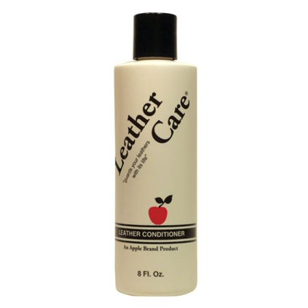 Plum Suede Leather - Apple Leather Care Conditioner 8 oz.