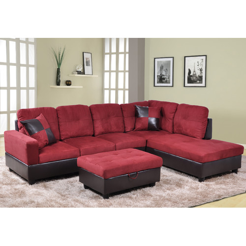 Red Barrel Studio Bothwell Sectional with Ottoman