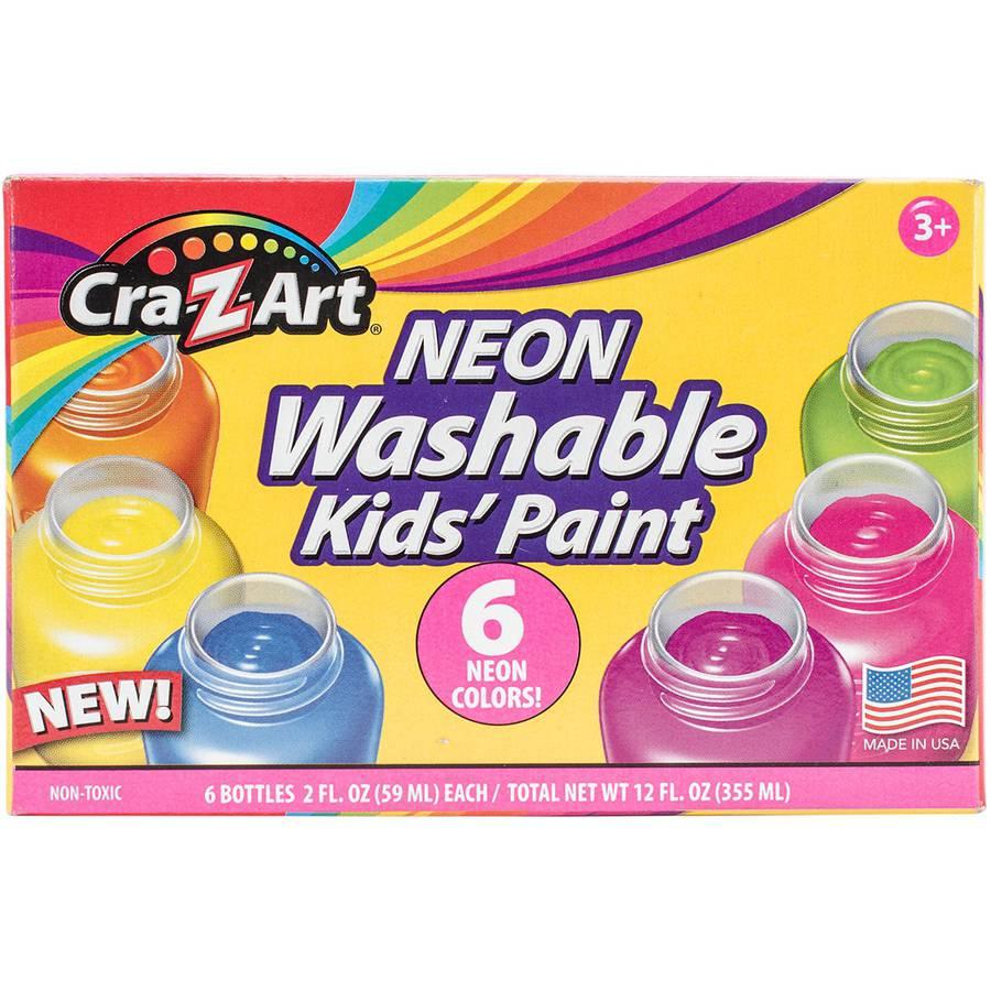 Prism Poster Paint Jars, .75oz, 6pk, Neon