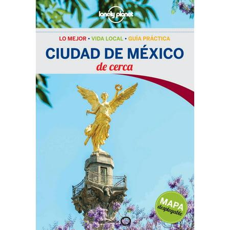 Lonely Planet Ciudad de Mexico de Cerca - Paperback