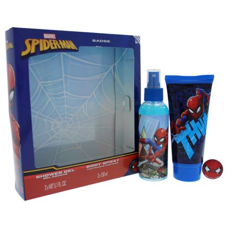 Spider Man Marvel 3 pc Gift Set For Kids (Marvels Kids)