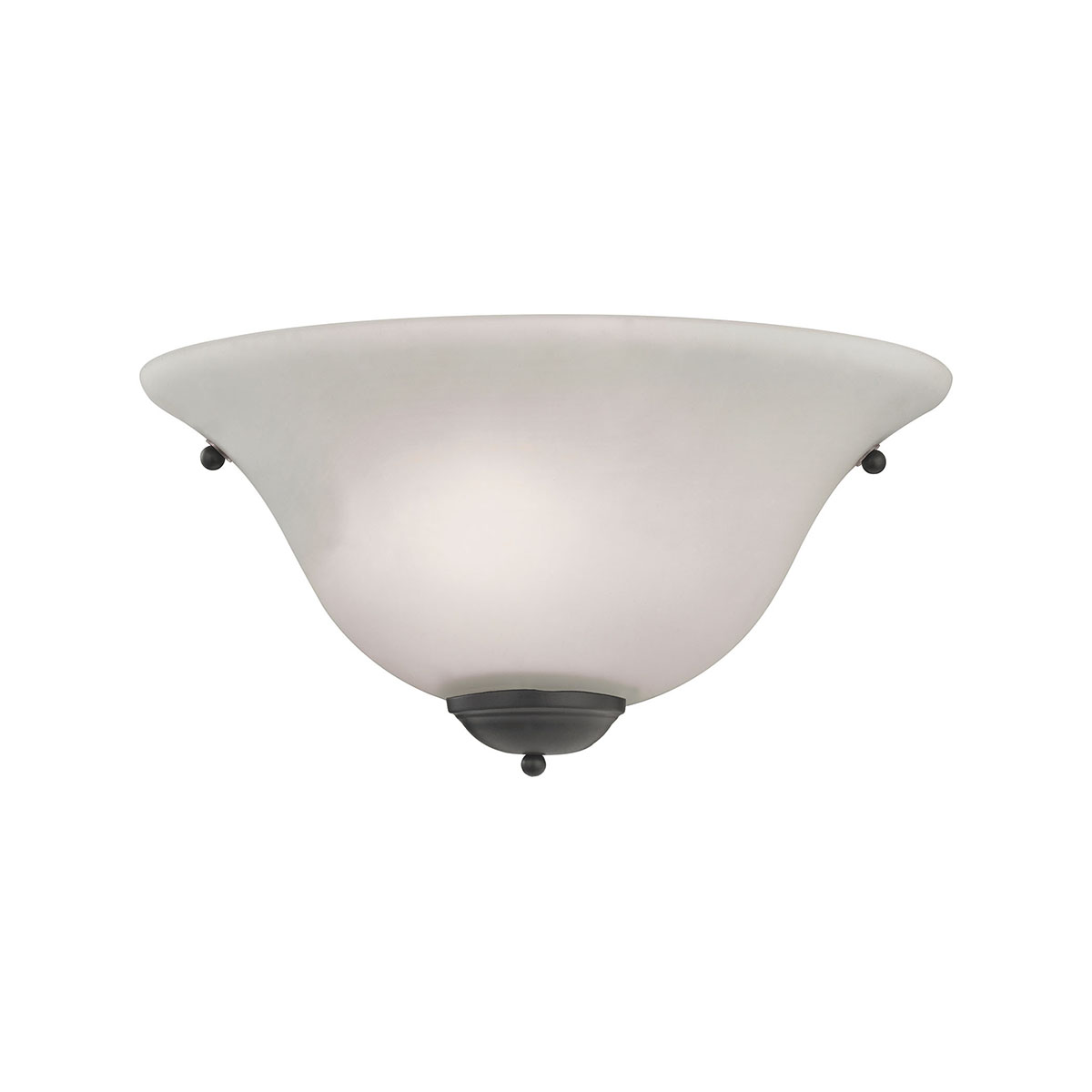 1 Light Wall Sconce In Oil Rubbed Bronze - image 1 de 1