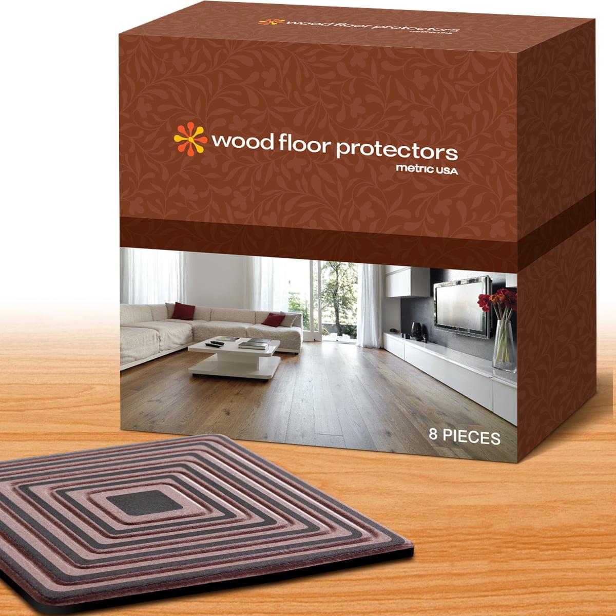 Wood Floor Protectors By Metric Usa Set