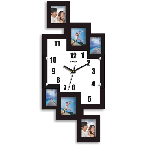 teen small bedroom clock with 6 frames 2 55 quot x 3 14 quot walmart 13497