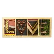 Language Art Wood ''LOVE'' Letter Block