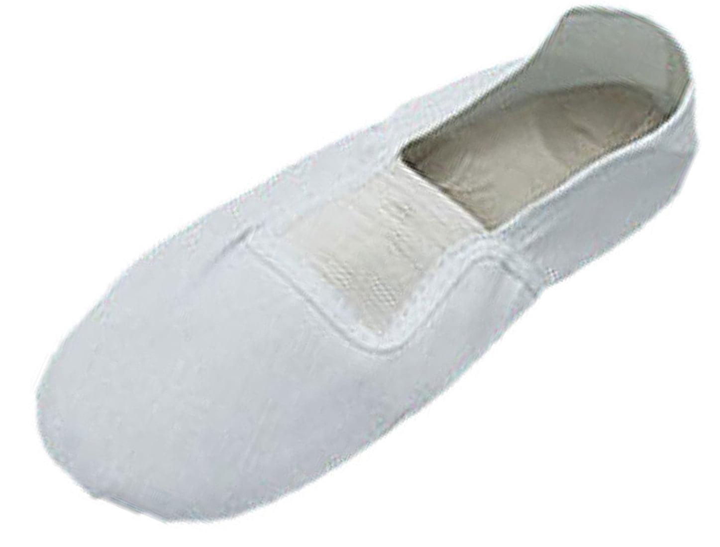 Unique Bargains 11.5 Size Elastic Band White Dancing Dance Girls Shoes New