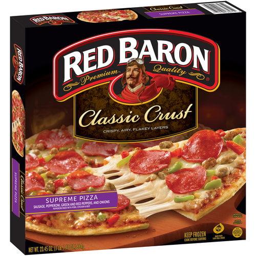 Red Baron Supreme Classic Crust Pizza, 22.63 oz