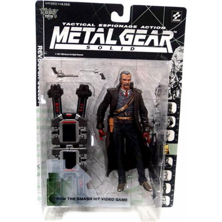 McFarlane Metal Gear Solid Revolver Ocelot Action Figure - Revolver Toy