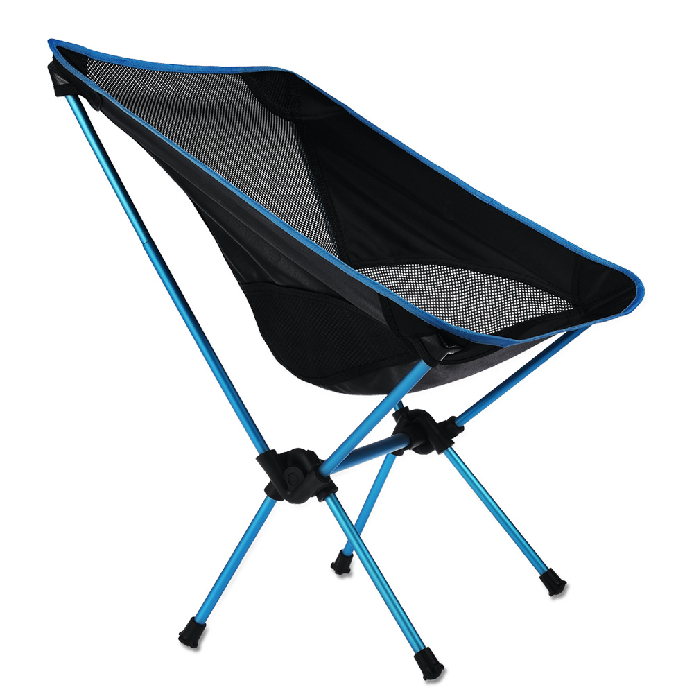 Click here to buy RUNACC Folding Camp Chair Outdoor Chair Portable Beach Chair for Outdoor Activities, Heavy....