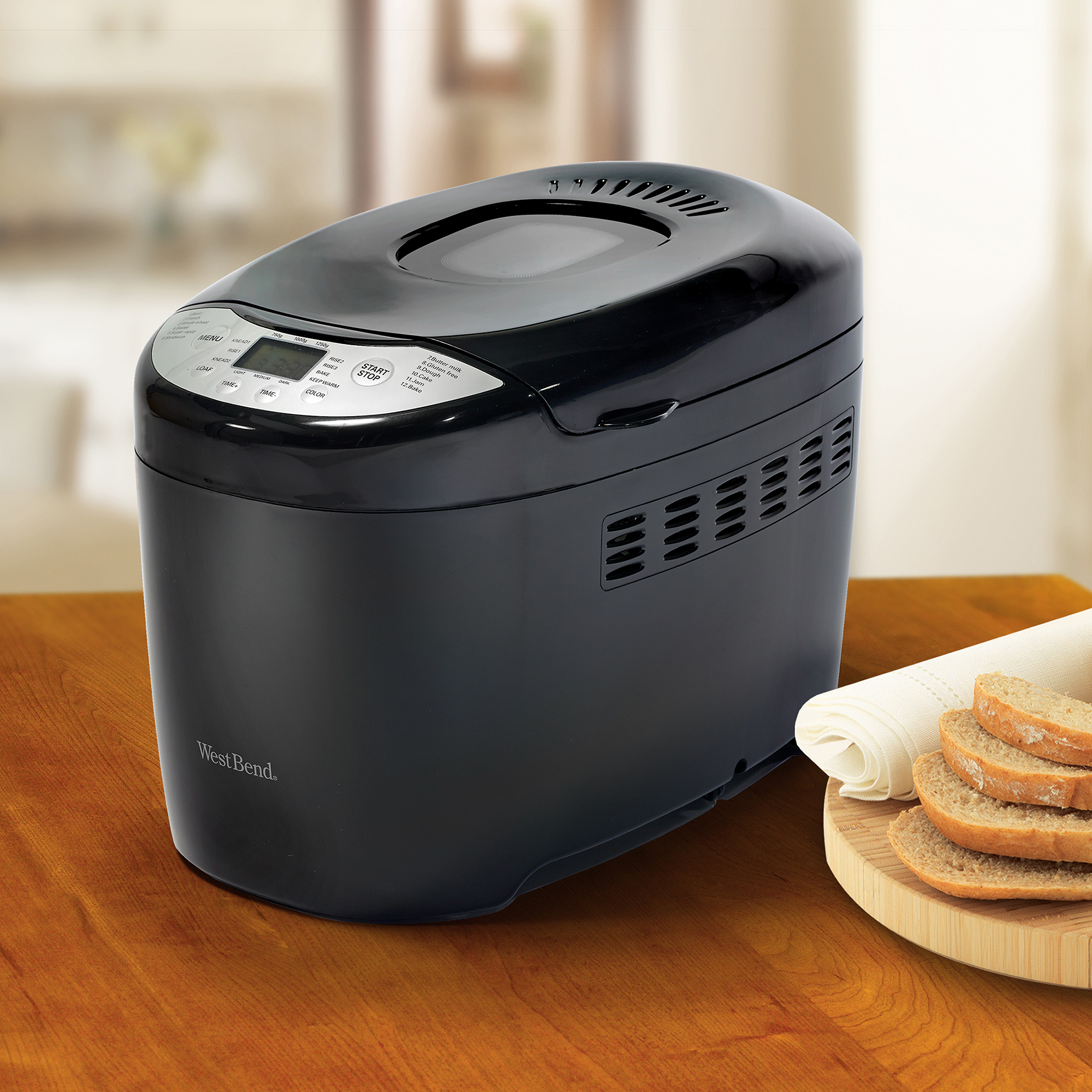 West Bend 2.5-lb Loaf Capacity Hi-Rise Breadmaker