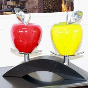 Infinita Corporation Artesana Medium Apple on Twin Bridge Sculpture