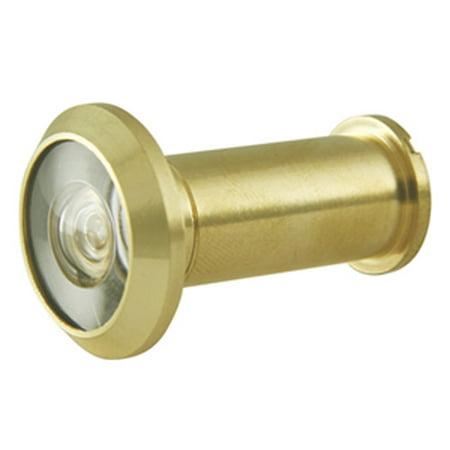 Ultra 60915 190 Degree Brass Door Viewer