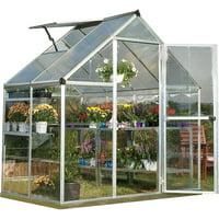 Palram Hybrid Greenhouse 6-ft x 4-ft 701651 Deals