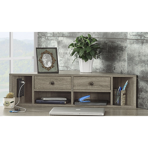 Turnkey Products LLC Franklin 11'' H x 40'' W Desk Hutch