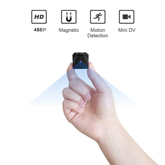Mini Spy Camera Hd Covert Nanny Cam With Night Vision And Motion Detectionindoor