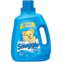 Snuggle Liquid Fabric Softener, Blue Sparkle, 75 Ounce, 90 Loads
