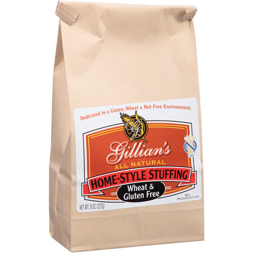 Gillian's Wheat & Gluten Free Home-Style Stuffing, 8 oz, (Pack of 6)