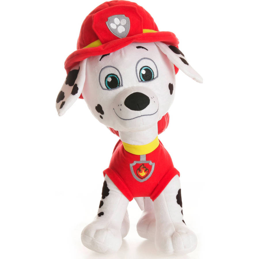 Character Cuddle Pillow, Paw Patrol Marshall