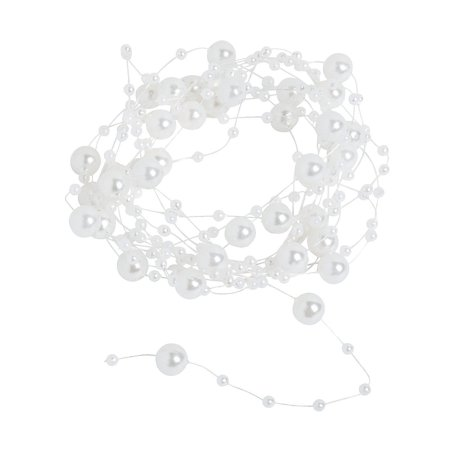 Fun Express - Pearl Garland 9ft for Wedding - Party Decor - Hanging Decor - Garland - Wedding - 1 Piece](Pearl Garland)