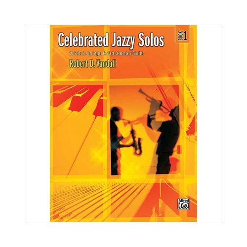 Alfred 00-32784 Celebrated Jazzy Solos- Book 1 - Music Book