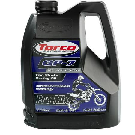 Torco Racing - GP-7 2-STROKE RACING OIL 1 GAL Torco T930077SE