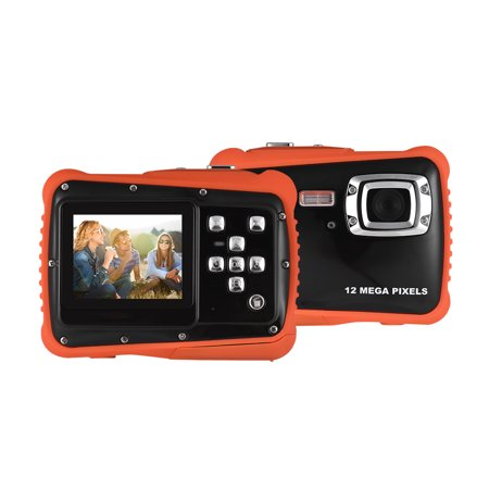 """Compact Size 720P HD Digital Camera Camcorder 5MP CMOS Sensor 2.0"""" LCD Screen 3 Meters Waterproof with Built-in Microphone for Kids Children Students Boys Girls Summmer Gift"""