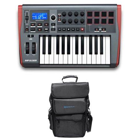 novation impulse 25 ableton live 25 key midi usb keyboard controller carry bag. Black Bedroom Furniture Sets. Home Design Ideas