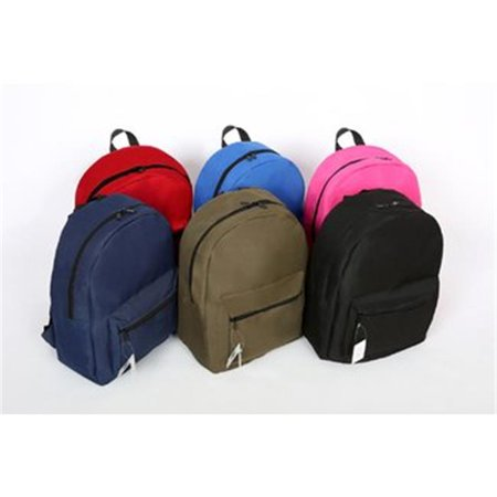 Three Leaf 2316521 17 in. Backpack - 6 Assorted Colors  Case of  12 - image 1 of 1