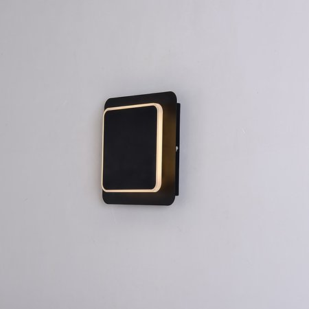 Creative Bedside Wall Lamp LED Wall Lamp Home Decor Modern Square Lamp Light - image 2 of 8