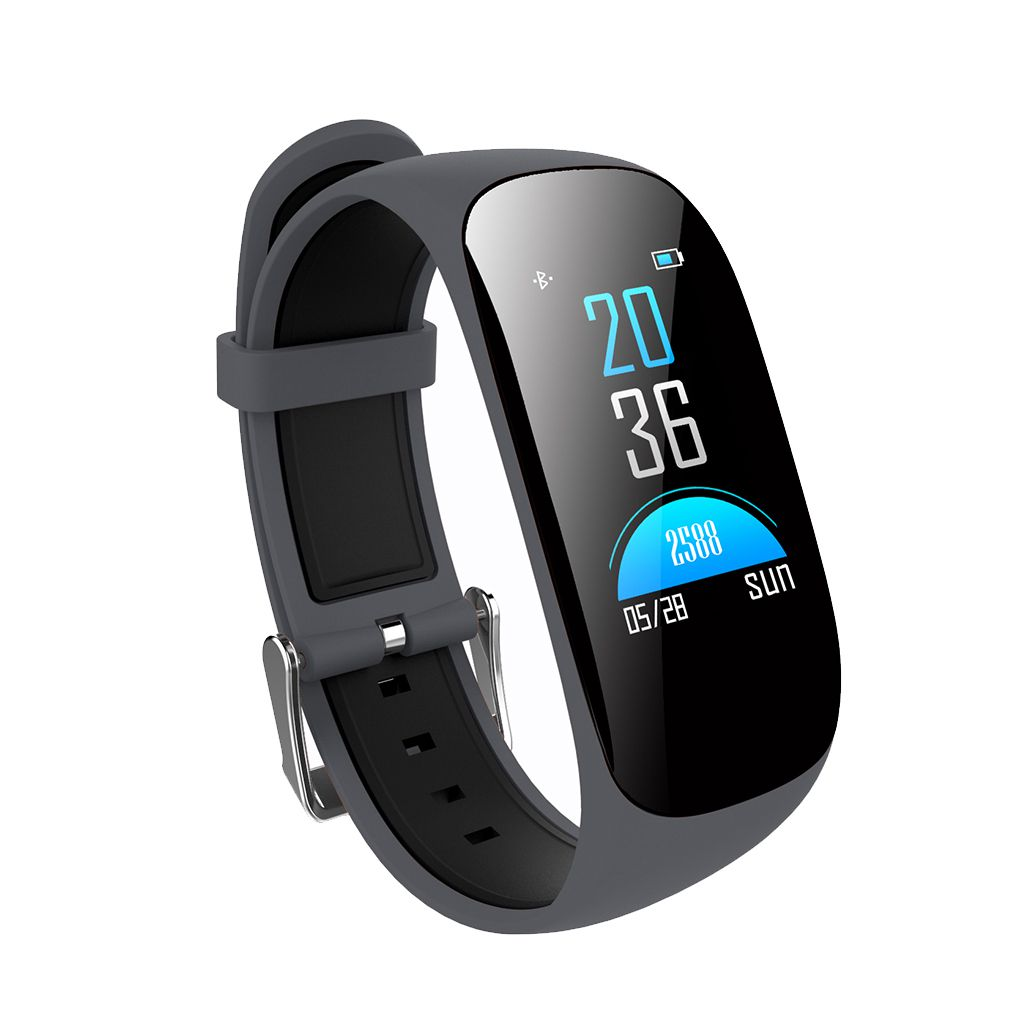Smart Wristband Bracelet Waterproof Blood Oxygen Heart Rate Pedometer Fitness Tracker Sport Bluetooth Wristband