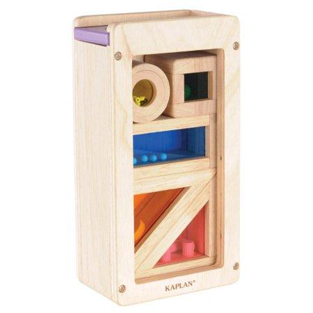 Rainbow Sound Blocks - 5 Piece Set (Rainbow Sound Blocks)