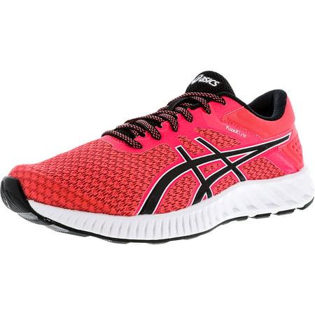 Asics Women's Fuzex Black Diva Pink Ankle High Running Shoe 10M