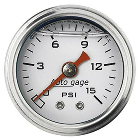 AUTO METER 2175 Autogage Fuel Pressure Gauge Autometer Autogage Mechanical Oil