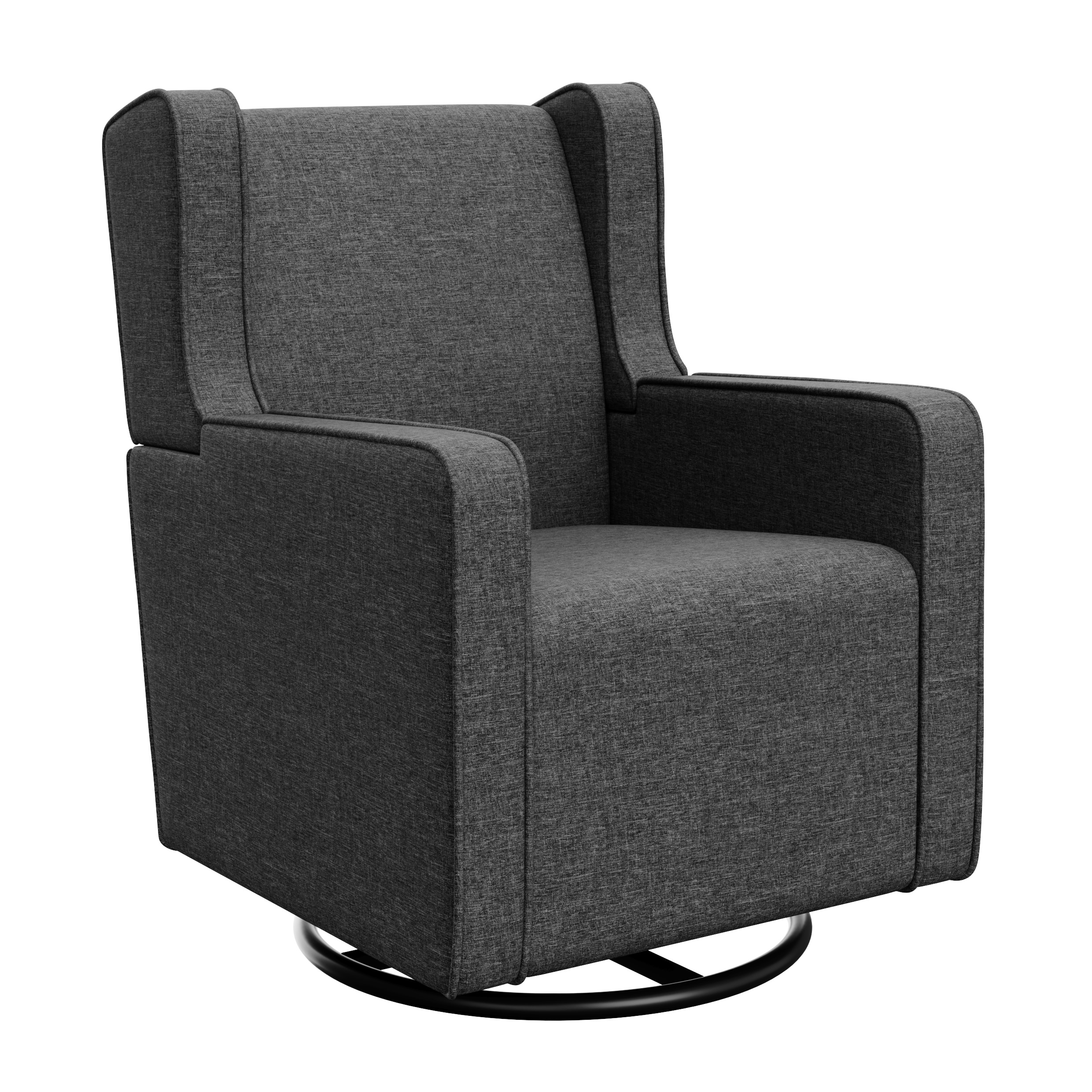 Graco Remi Upholstered Swivel Glider Horizon Gray by Graco