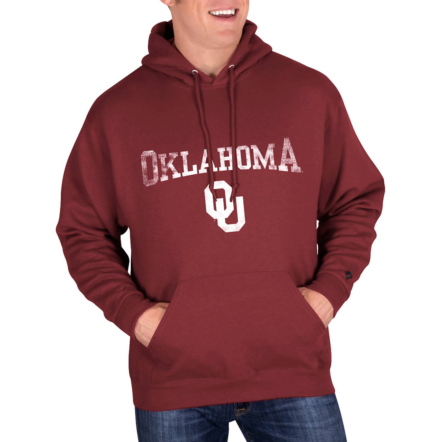 NCAA Oklahoma Sooners Big Mens Classic-Fit Pullover Hood