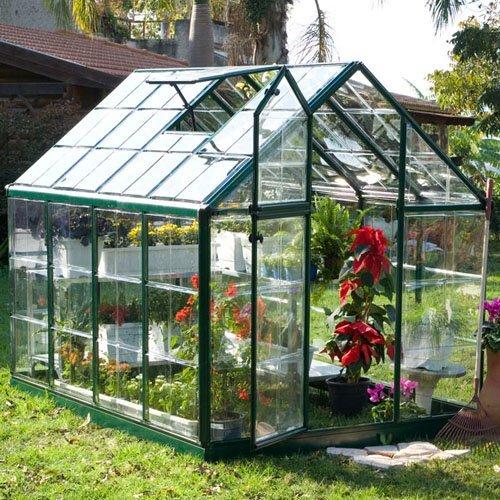 Palram Nature Series Hybrid Hobby Greenhouse 6 X 8 X 7