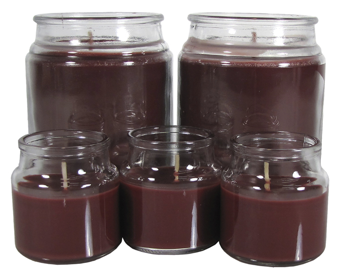 Mainstays Black Cherry Jar Candle Set, 5 Piece