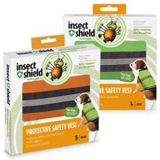 Insect Shield Protective Safety Vest Large, Orange