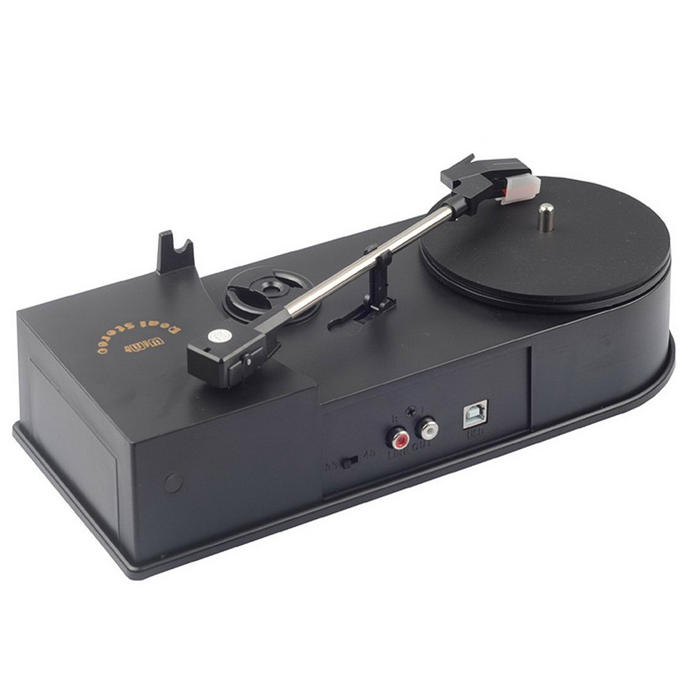 Tape Play Turntables USB Record Player Speed 33_45RPM Vin...