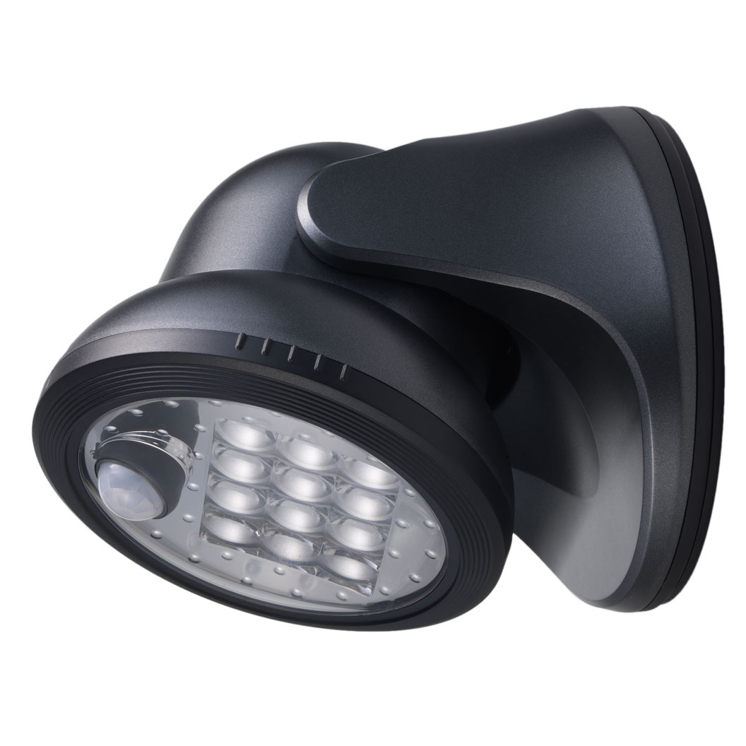 Fulcrum Products Inc 20034-104 12 LED Charcoal Wireless Porch Light