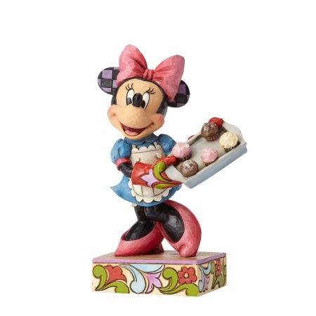 Jim Shore Disney Traditions Baker Minnie 4055411 New 2017