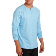 Russell Big Men's Performance Long Sleeve Solid Henley