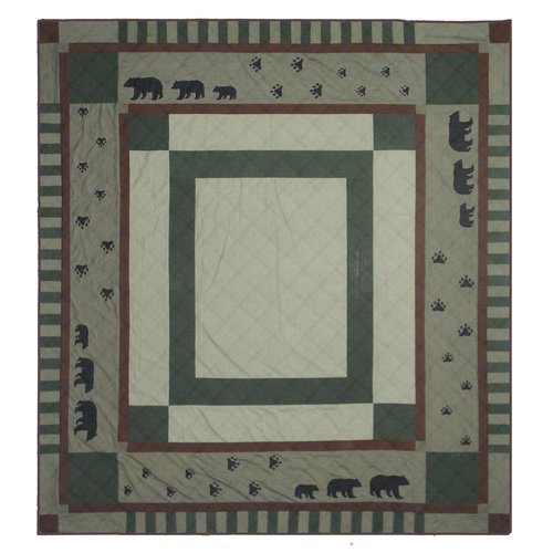 Patch Magic Bear Trail Twin Quilt