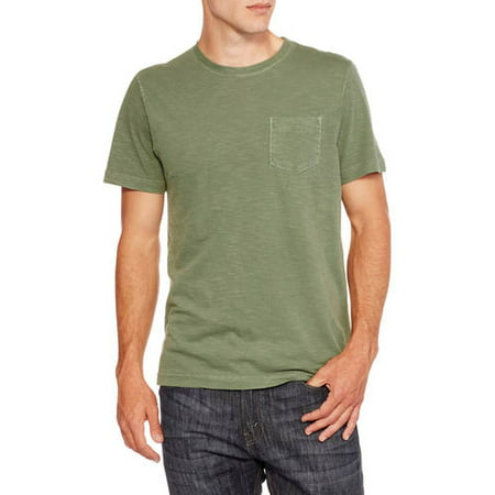 buy best low price select for newest Men's Short Sleeve Pigment Dyed Pocket Tee